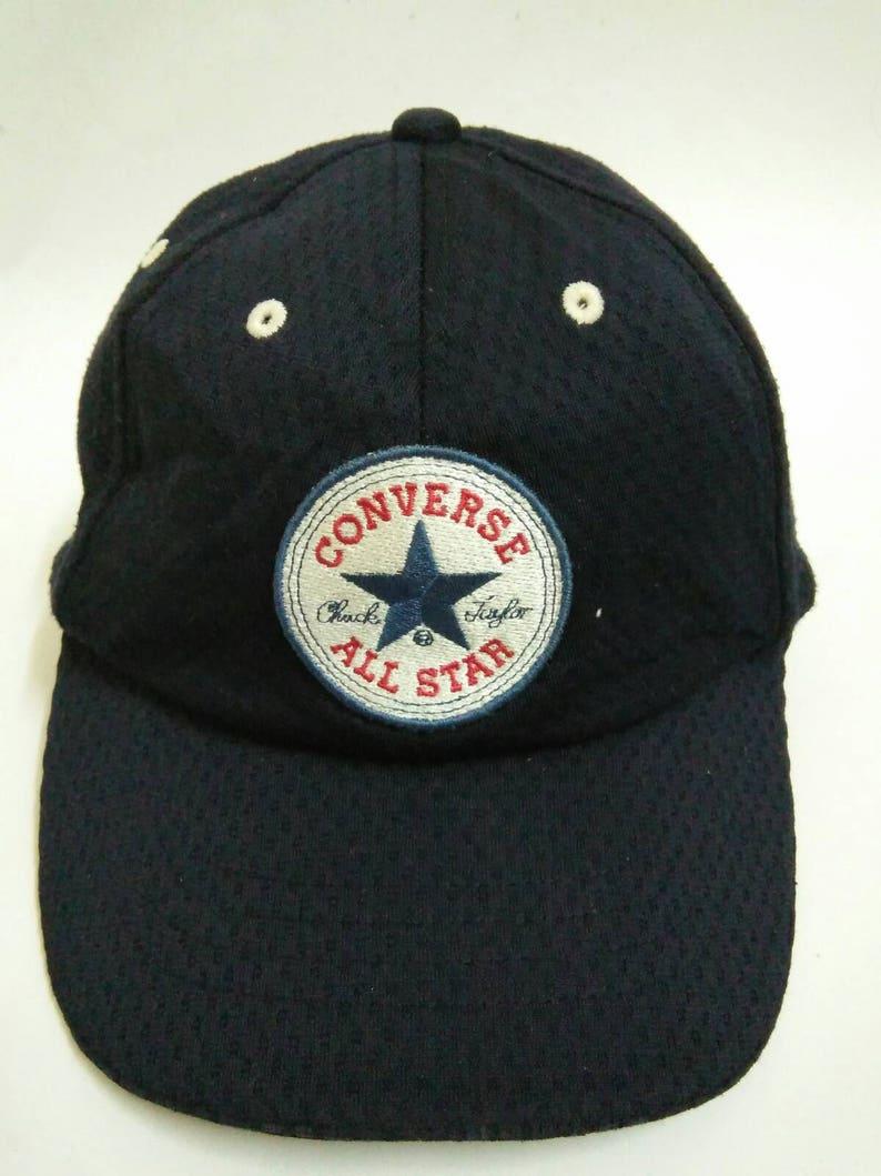 Rare Vintage CONVERSE Hat Cap Chuck Taylor Cap Converse All  6e0d457c4f7