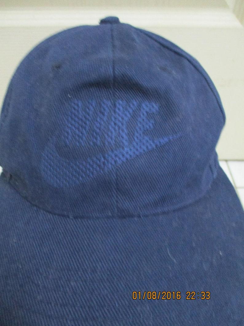 438792d5d04 Rare Vintage NIKE Hat Cap Sport Wear Nike Sport Nike Big