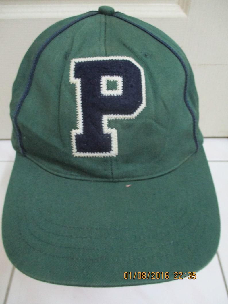d6173160 Rare Vintage POLO Cap Big P Logo Polo By Ralph Lauren Cap   Etsy