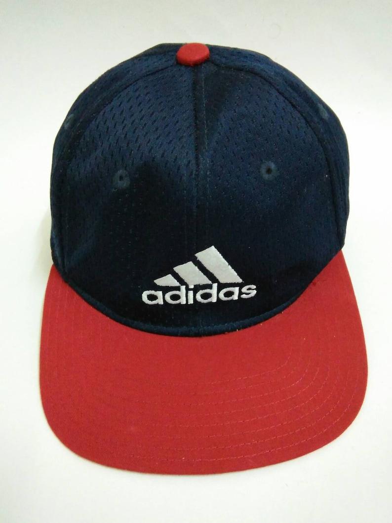 9e82d88a010a2 Rare Vintage ADIDAS Hat Cap, Big logo, embroidered logo (571)