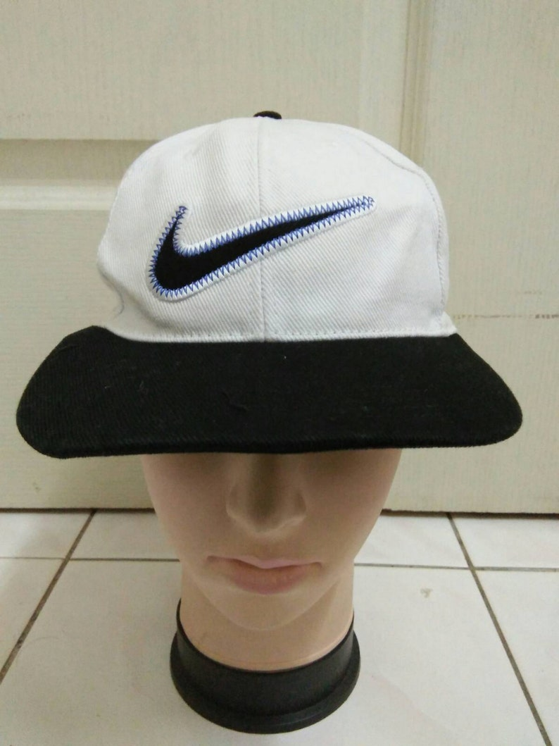 f173452e Rare Vintage NIKE hat cap nike big logo nice hipster   Etsy