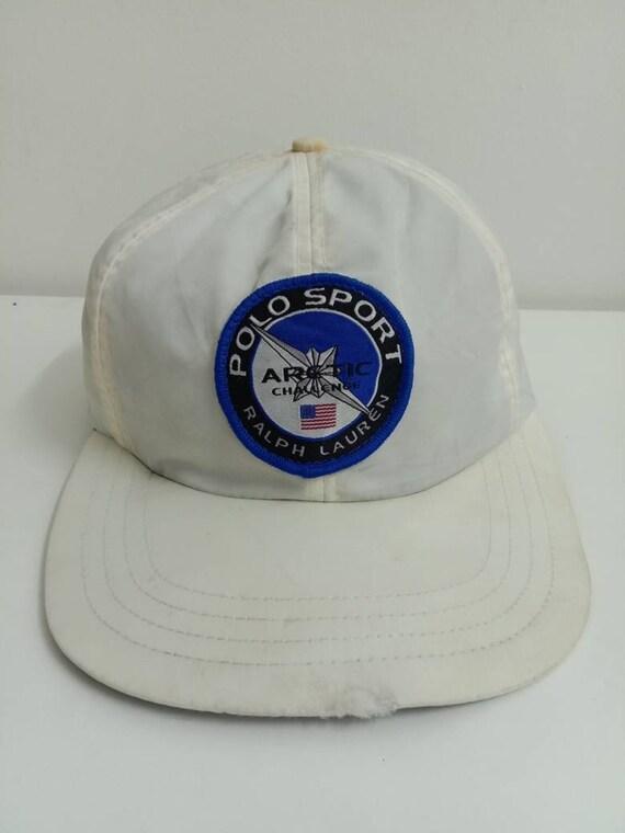 Rare Vintage POLO SPORT Ralph Lauren Hat, ARCTIC C
