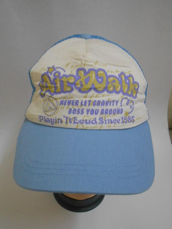 Rare Vintage AIRWALK Snapback Cap 123  cd212541ec1
