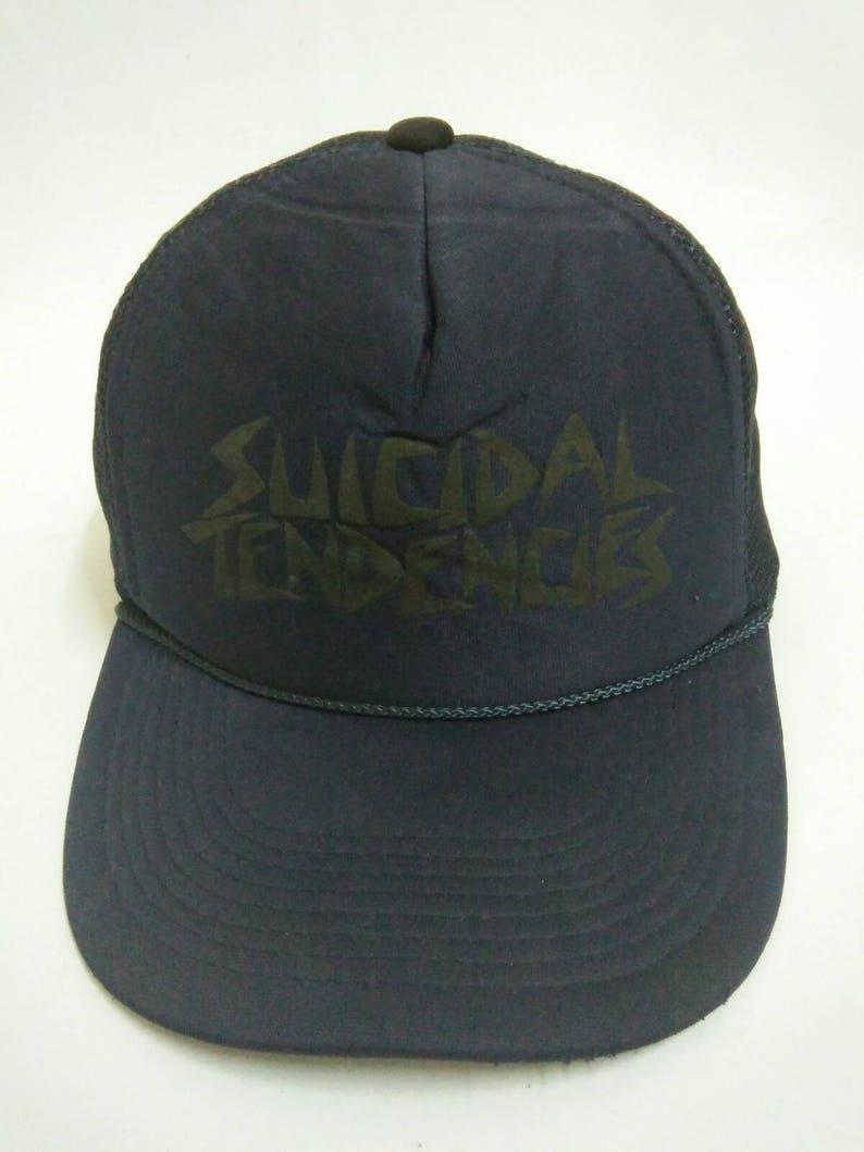 92f8a322d14 Rare Vintage SUICIDAL TENDENCIES Hat Cap Otto Cap Snapback