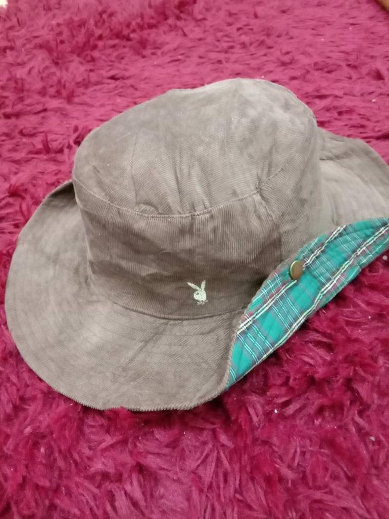 offrire sconti prezzo di fabbrica le migliori scarpe Rare Vintage PLAYBOY cappello, cappello reversibile, velluto a coste (402)