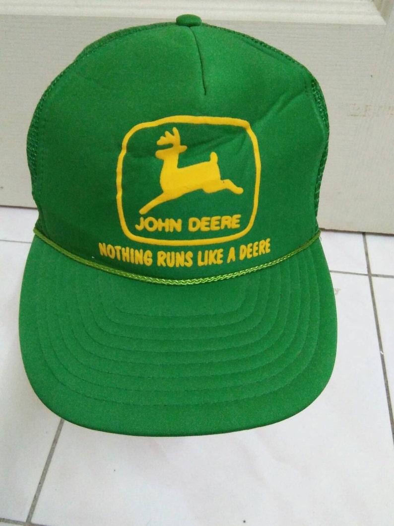 756e4413 Rare Vintage JOHN DEERE hat cap john deere nissun cap golf | Etsy