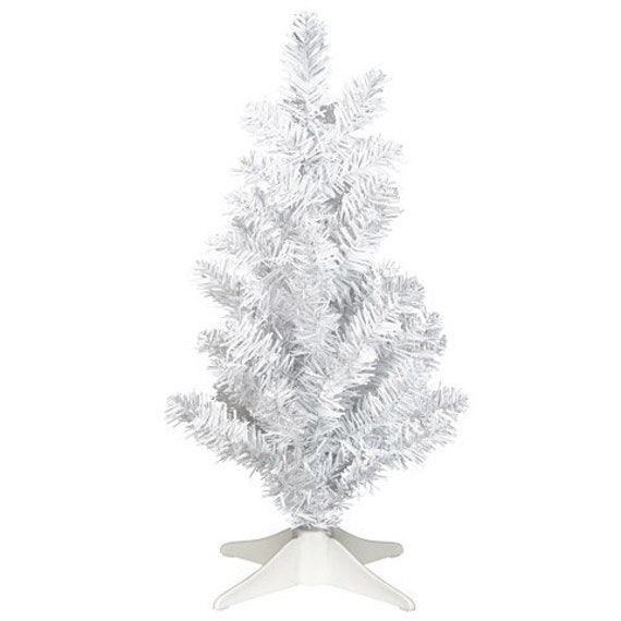 Clearance Christmas Trees.Clearance Price 2 Mini Christmas Trees White 6 X 14 Inches By Darice A Perfect Table Top Tree