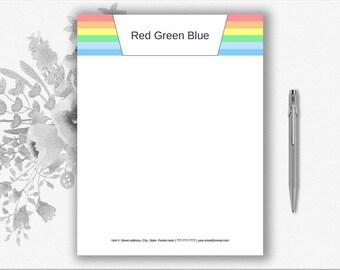London-Design-Briefkopf-Vorlage-Download Kreative druckbare | Etsy