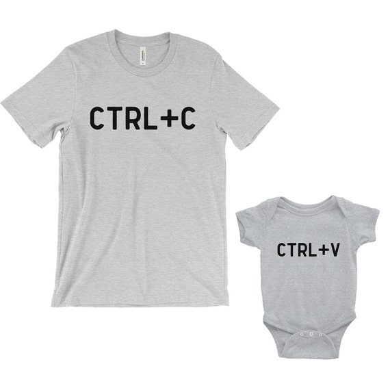 8ff258a0b7f CtrlC CtrlV dad and baby matching shirts dad and son