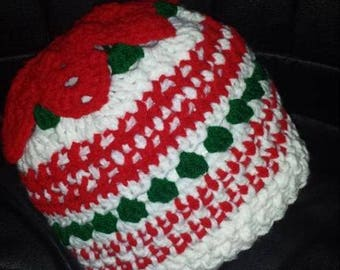ugly sweater hat winter hat winter fashion christmas gift holiday gift holiday hats christmas hats poinsetta hats - Ugly Christmas Hats