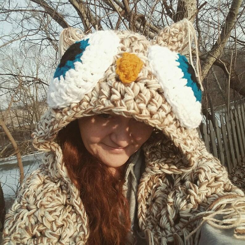 Crochet Blanket Birthday Gift Easter Throws Kids Gift Hooded Owl Blanket Kids Blanket Bedding Mothers Day