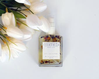 Lavender Chamomile Infused Body Oil, Bath Oil, Massage Oil, All Natural