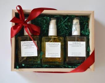 Body Oil Gift Set, Sampler Kit