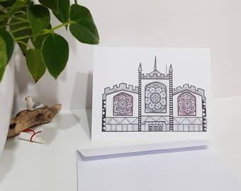 Hitchin Church St Mary's Greeting Card Blank