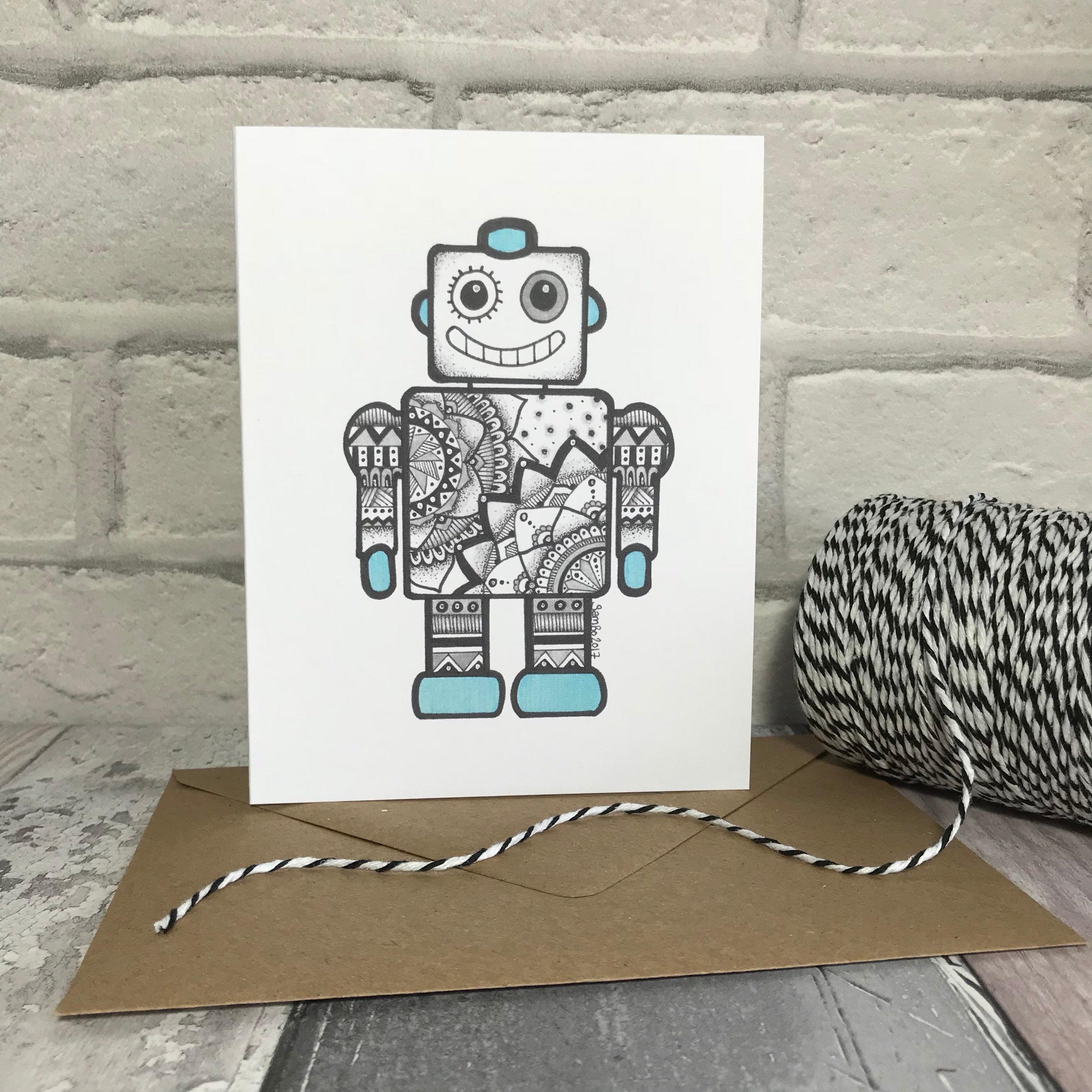 бланк 2017 робот