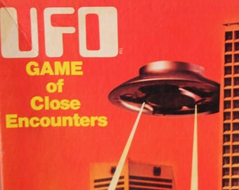 UFO Game of Close Encounters - unpunched.