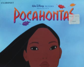 Pocahontas Sheet Music - Clarinet