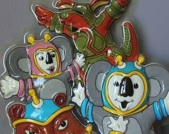 Expo 88 Mascots Wall Plaque