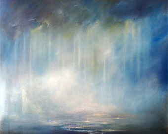 "Art Print ""Heaven's Rain"""