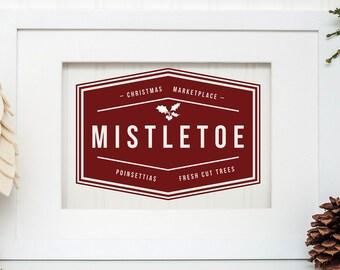 Mistletoe Markets SVG