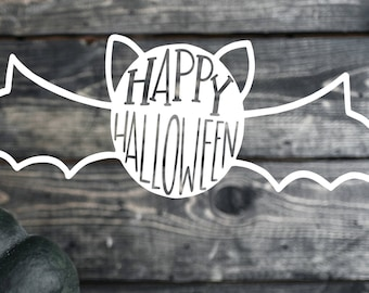 Happy Halloween - Hand Lettered SVG