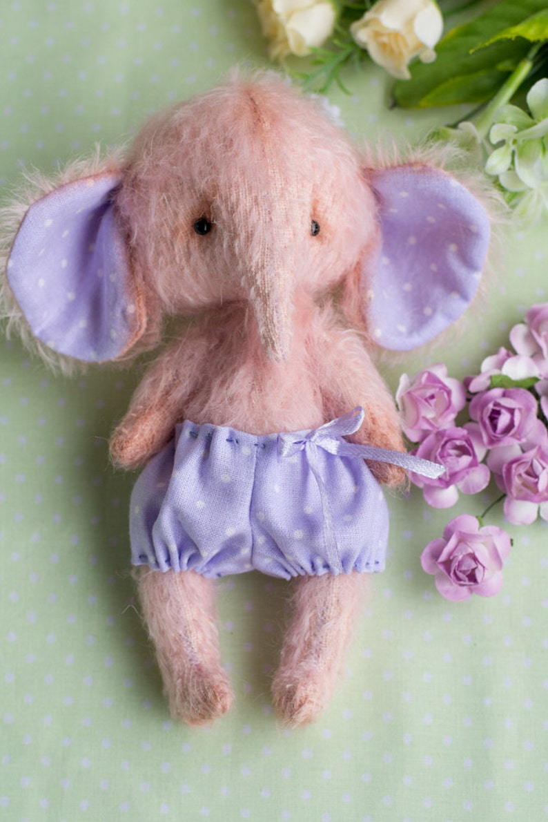 Teddy bears PDF Pattern /& Tutorials for Teddy elephant mohair for 7 inches toy Sewin author Dubyanskaya Sewing Digital Download