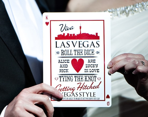 Las Vegas wedding invitations, perfect for a Wedding Celebration, Elvis style wedding cards