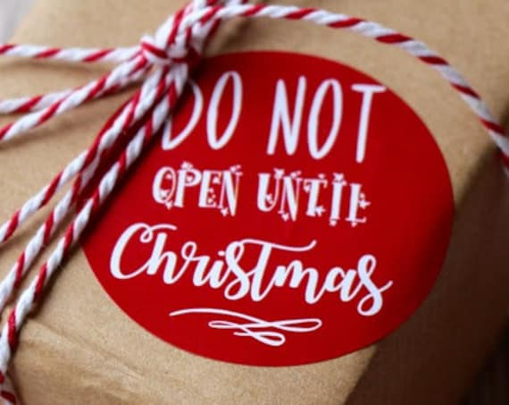 Christmas stickers and gift labels. Perfect for the holidays, cards and presents