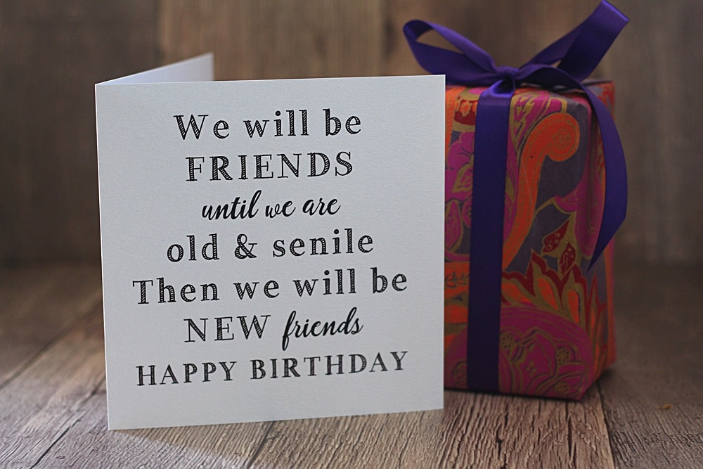 what to get a new friend for her birthday