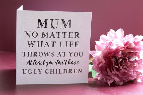 Happy Birthday Mum, Card for Mum, Mother's Day