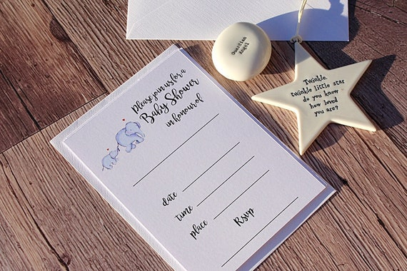 Baby Shower Invitations, Birth Announcement Cards, New Baby Party Invites