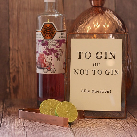 Framed Gin Prints for the Gin Lover in your life