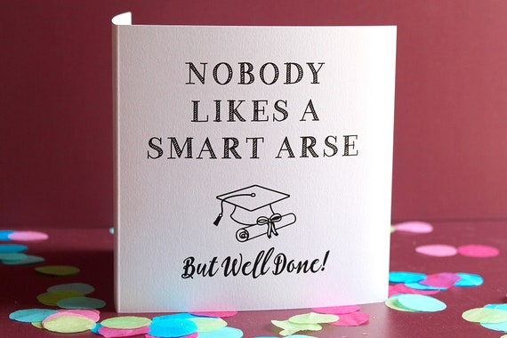 Exam Success Card, Passed GCSE and A Level Examinations