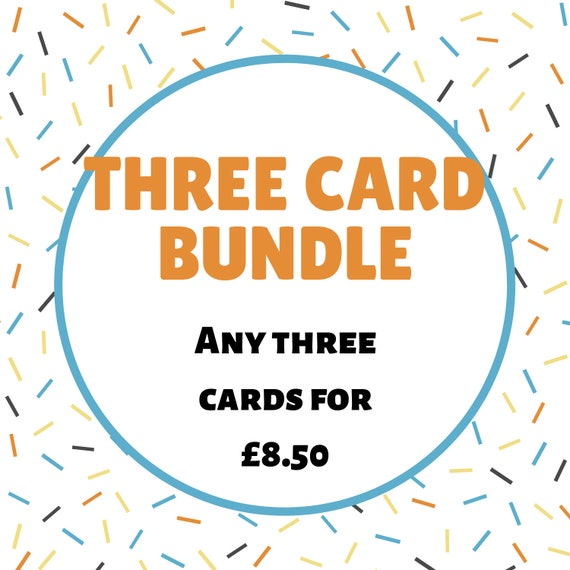 Three Card Bundle