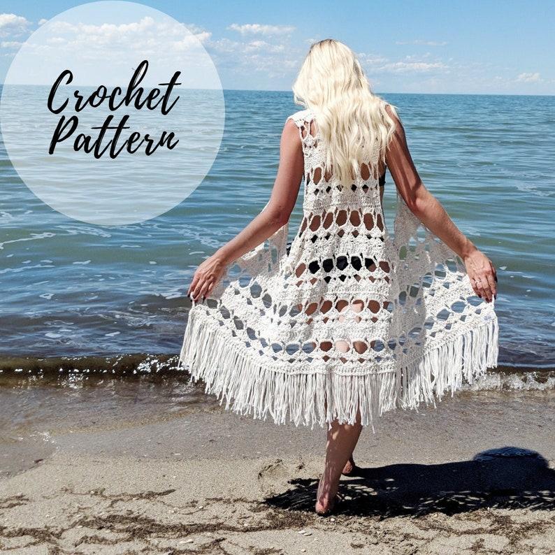 Aloha Vest x Crochet Pattern image 0