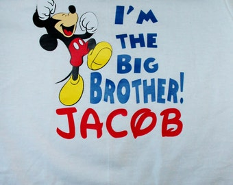 Mickey Mouse Big Brother Shirt