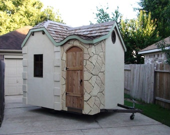Little Wink Cottage - Playhouse / Shed plans