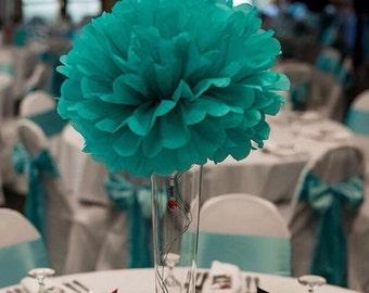 "Pompoms 10 ( 12""-6"") paper flower/ flower balls/ wedding decoration/ paper flower poms/ baby shower/ engagement party decorations"