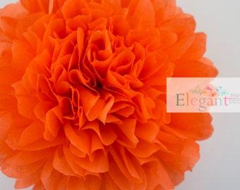 Poppy l 1 tissue paper Pompoms/single pompom/nursery room decoration/ baby shower/wedding/engagement/bridal shower/DIY/centerpiece