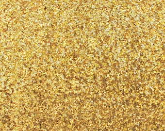 Gold Sequin Fabric, Glitz Full Sequins Fabric, Sequins on Mesh Fabric, Gold Sequin Tablecloth, Sequin Table Runner, Gold Sequins by the Yard