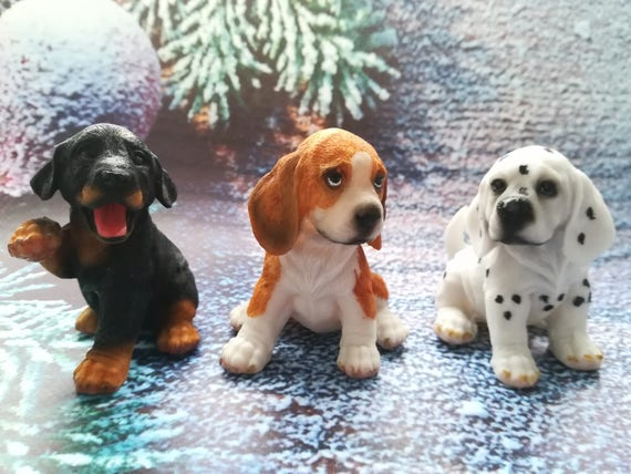3d mold beagle puppies hound whippet harrier mold dalmatian   etsy