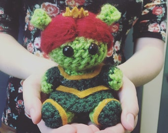 Princess Fiona Shrek Crochet Doll