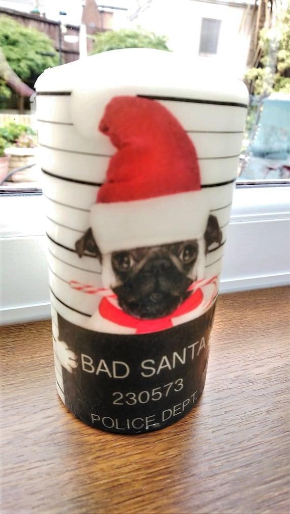 Pillar Candle Handmade.28 2 Sizes French Bulldog Boxing Glove Christmas Candle