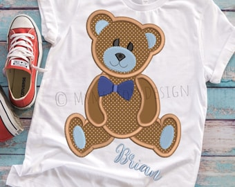 Machine embroidery, Bear Embroidery, Baby embroidery, Embroidery design, Boy embroidery, Embroidery pattern, Teddy bear design, 4x4 5x7 6x10