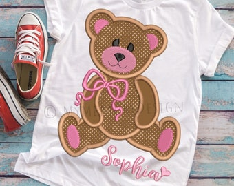 Bear embroidery design, Embroidery designs, Bear applique design, Machine embroidery, Embroidery pattern, Baby embroidery, 4x4 5x7 6x10
