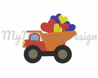 Truck embroidery design - Car embroidery - Baby embroidery - Embroidery for boys - Machine embroidery design - INSTANT DOWNLOAD