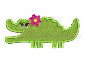 Crocodile embroidery design, Alligator embroidery, Jungle animals embroidery, Baby animals , Machine embroidery design, INSTANT DOWNLOAD
