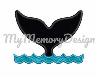 Whale embroidery design, Shark embroidery design, Summer embroidery, Boyapplique, Beach embroidery, Animal applique design, INSTANT DOWNLOAD