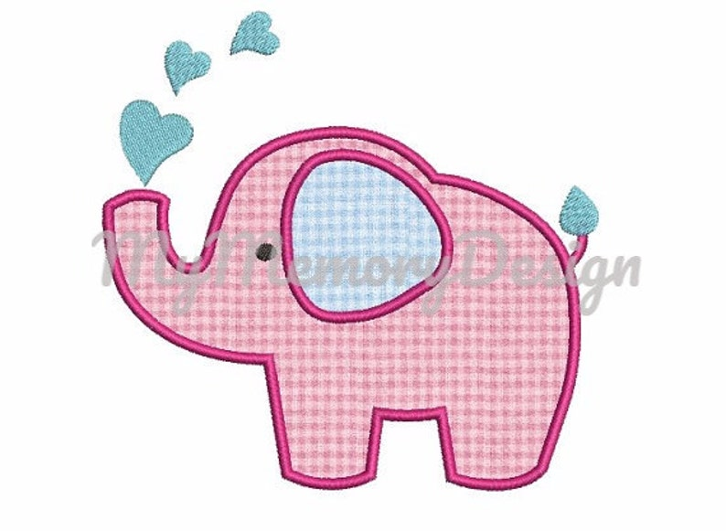 9745eba1a78f0 Elephant Applique Design, Baby Embroidery design, Baby girl, Baby boy,  Newborn embroidery, Baby shower embroidery, Machine embroidery file