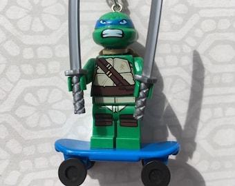 Superhero Lego Necklaces Teenage Mutant Ninja Turtles Leo Raphael Donnie Mikey Shredder TMNT